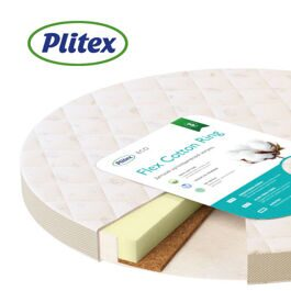 Матрас Plitex Flex Cotton Ring 75х75х10 ФК-02/2